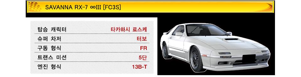 SAVANNA RX-7 ∞III [FC3S]